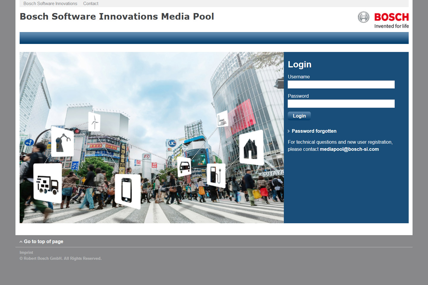 Bosch Software Innovations - Media Pool Detail