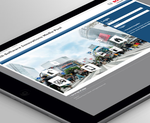 Bosch Software Innovations - Mediapool auf Basis von advastamedia